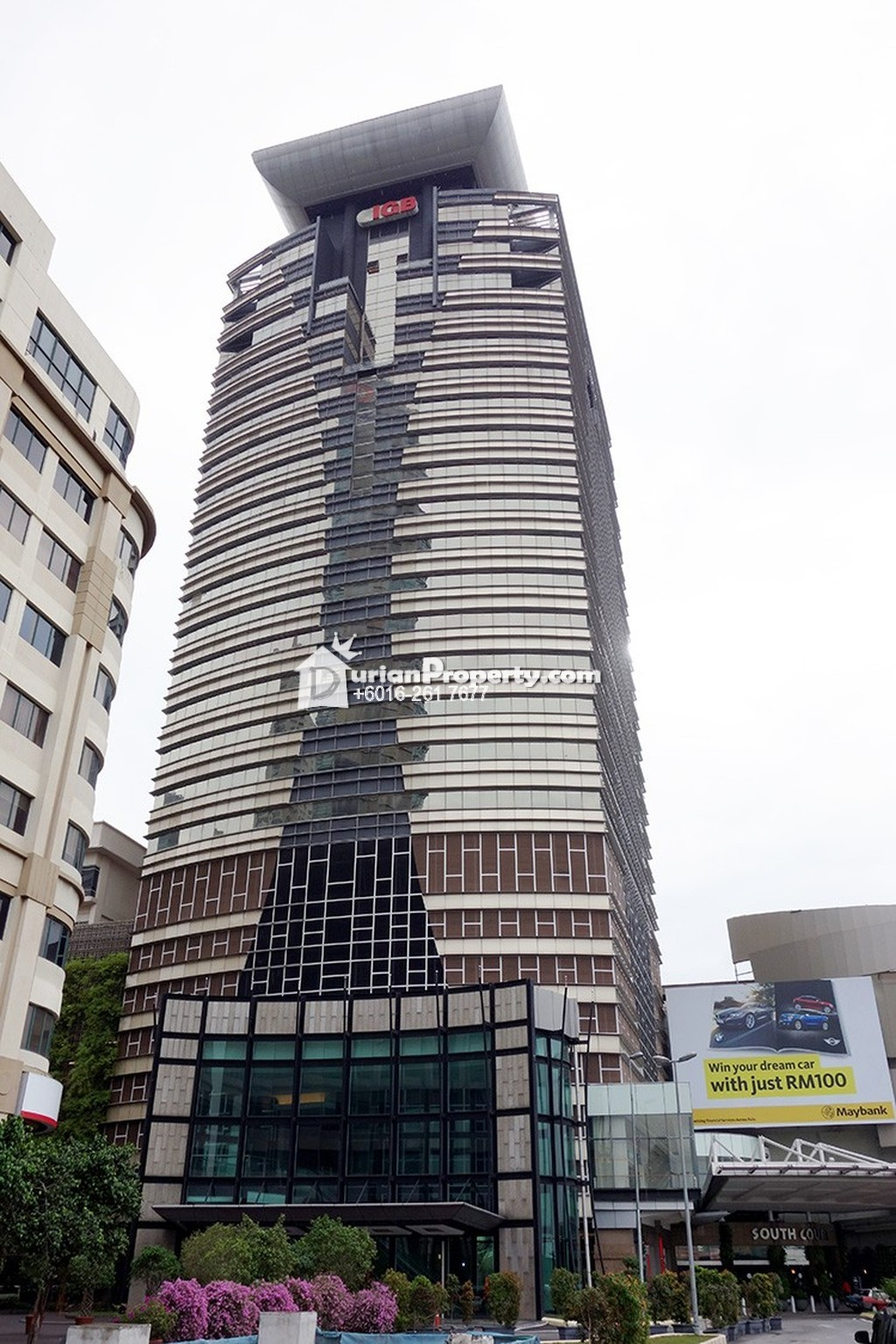 Office For Rent At Menara Igb Mid Valley City For Rm 2 950 By