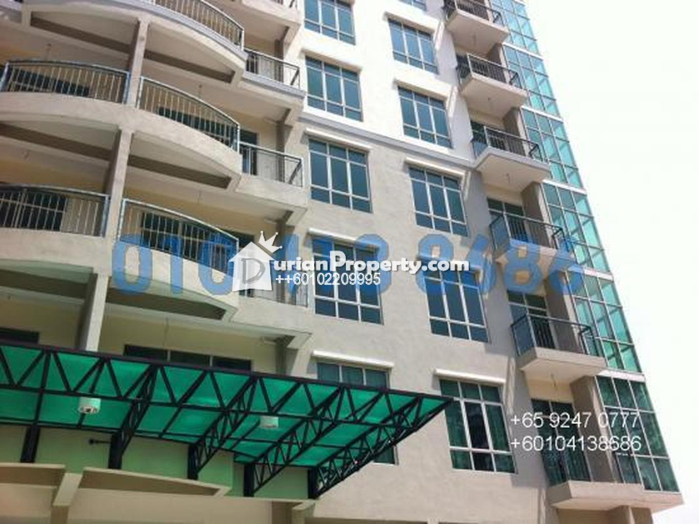Apartment For Rent At Bukit Chagar Luxurious Johor Bahru