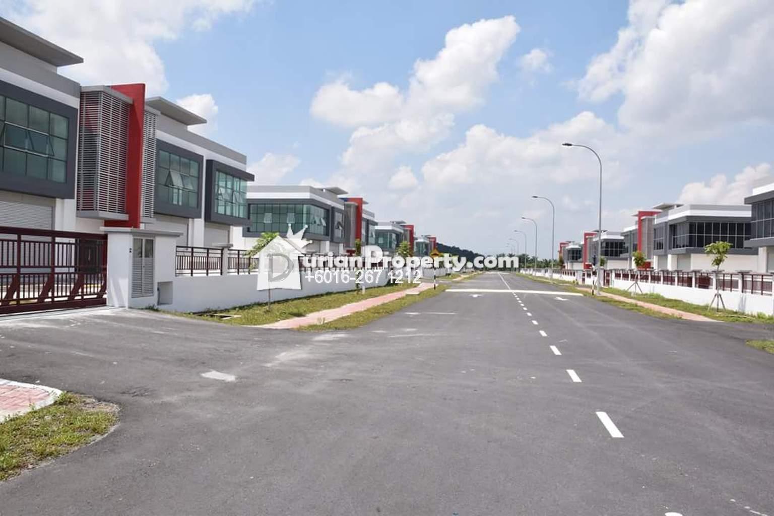 Semi-D Factory For Rent at Mega 22 industrial Park, Bandar Teknologi Kajang
