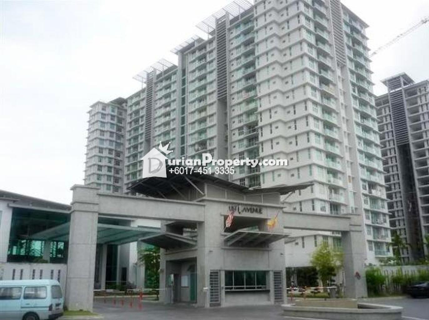Apartment For Rent At USJ One Avenue USJ For RM  By Johnson - Usj 1 location map