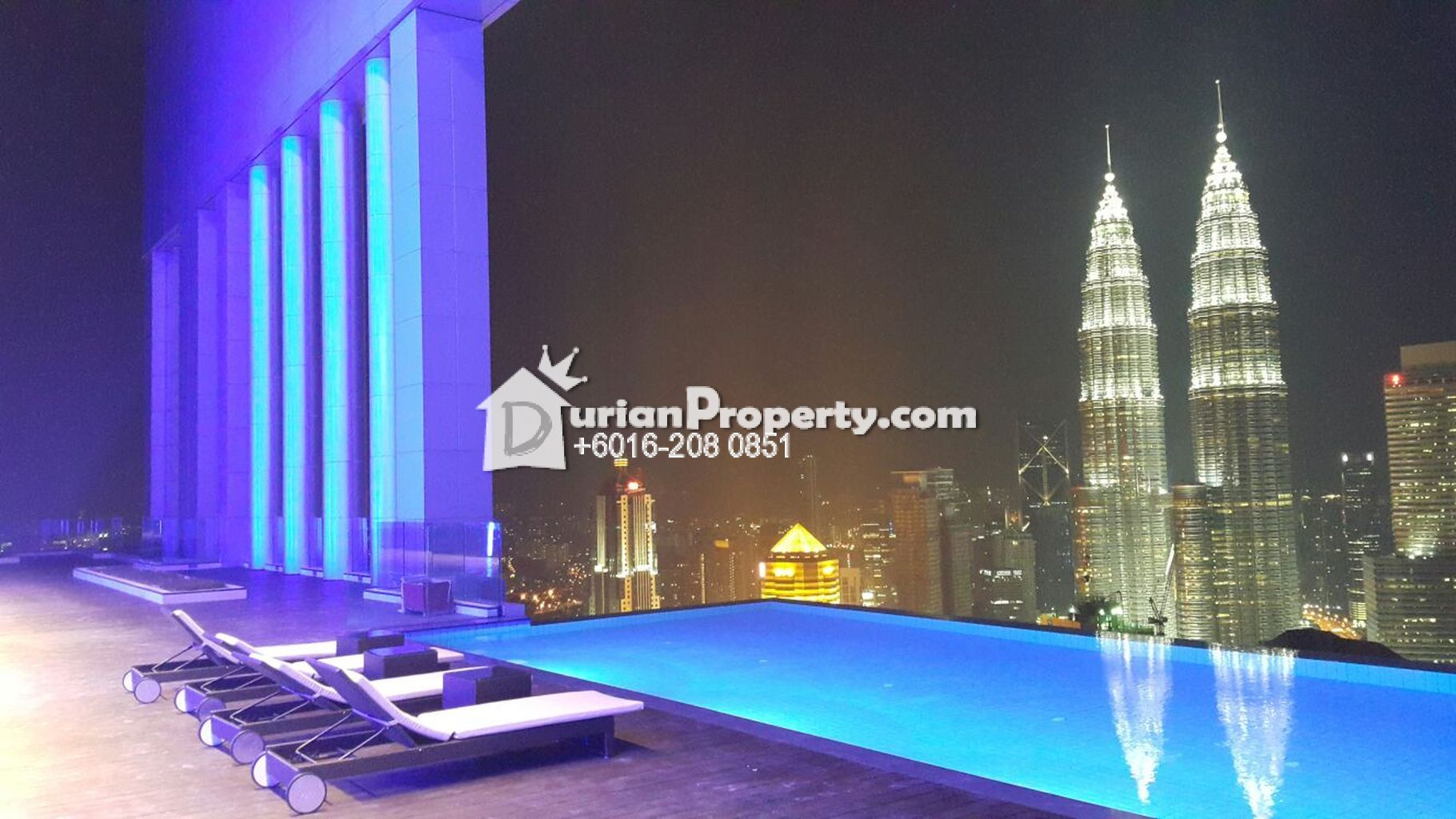 Serviced Residence For Rent At Platinum Suites Klcc For