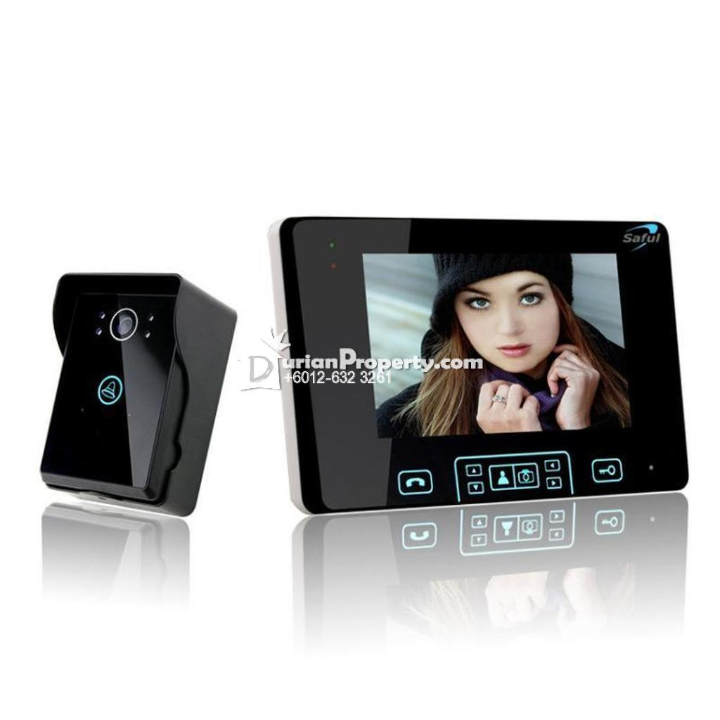 Wireless Video Door Phone (One Outdoor Camera with One ...BrandOEM Original priceRM999 DiscountRM119 Discounted priceRM880 AvailabilityIn stock A For Sale