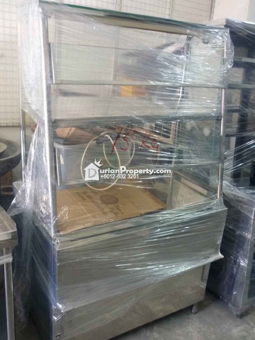 Stainless Steel Equipment-Stainless Steel Food Stall with Mirror For Sale