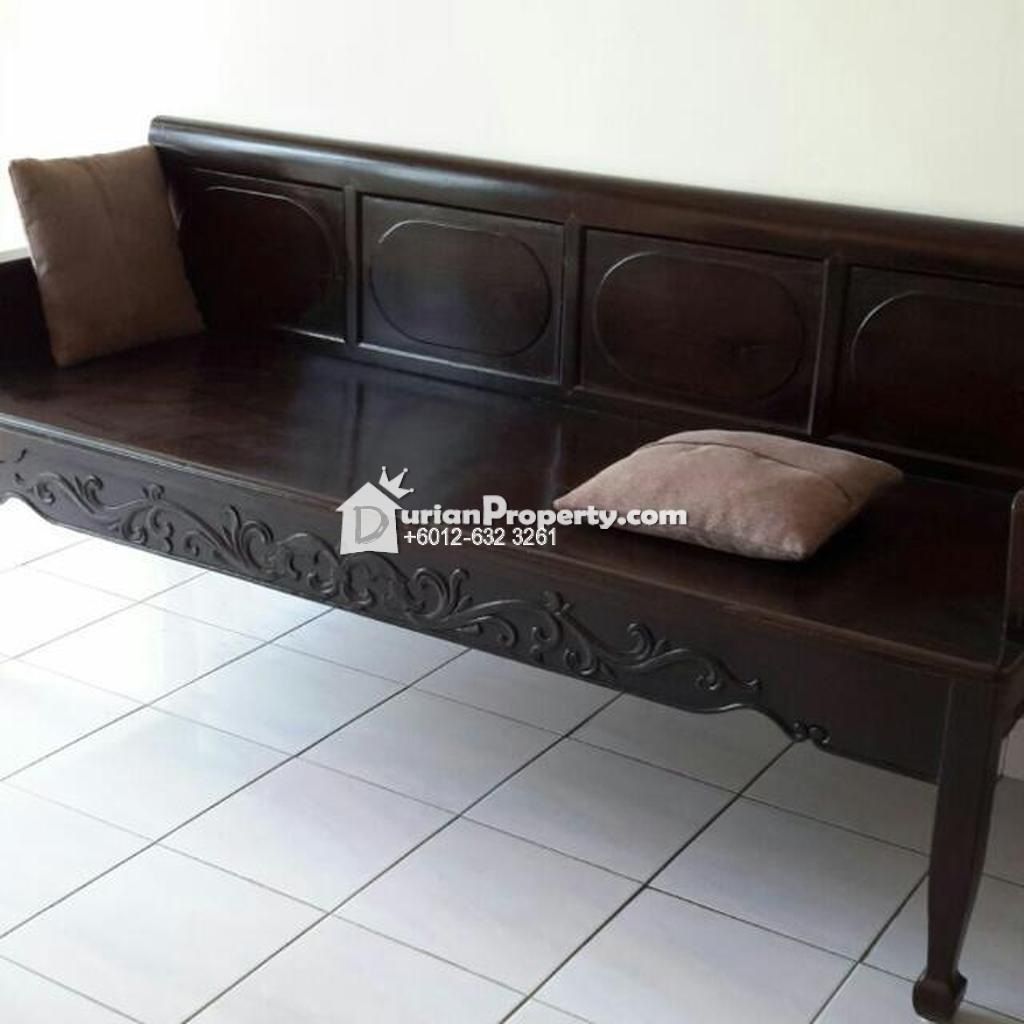 antique solid wood long bench For Sale