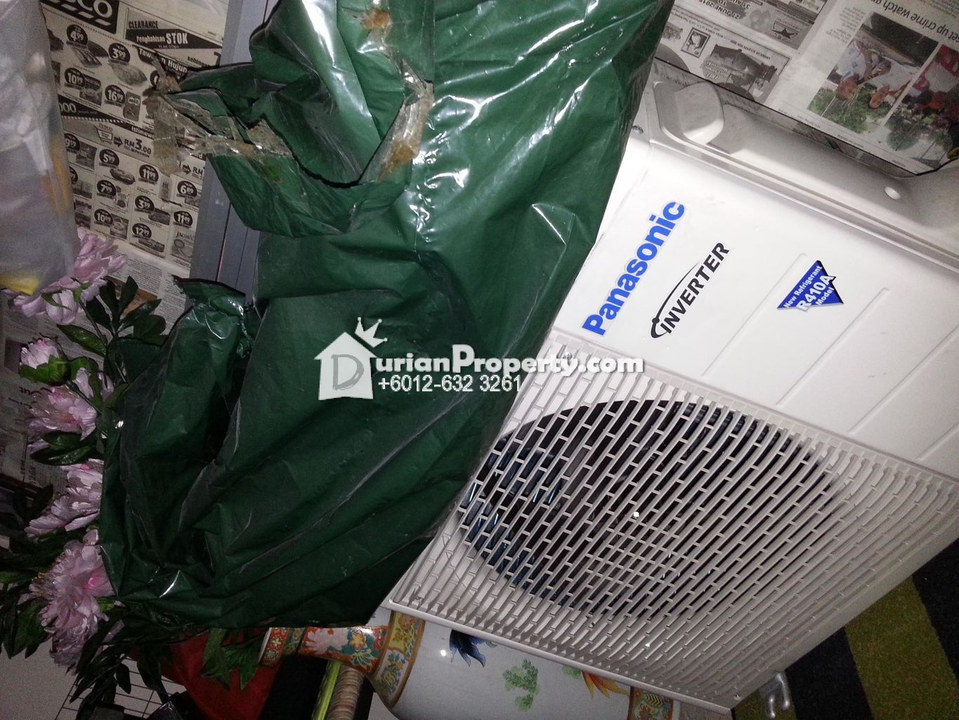 inverter Panasonic air-cond, like new For Sale