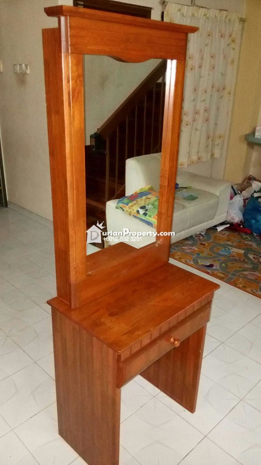 Dressing table and stool Sliding mirror For Sale