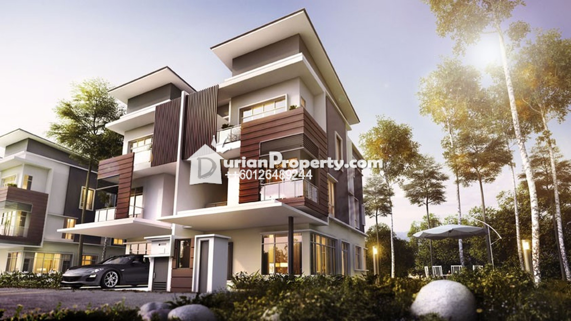 Terrace house for sale at damansara city residency for The terrace land and house