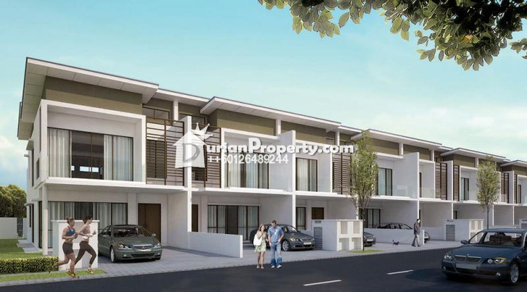 Terrace house for sale at glomac damansara ttdi for rm for Terrace of the house
