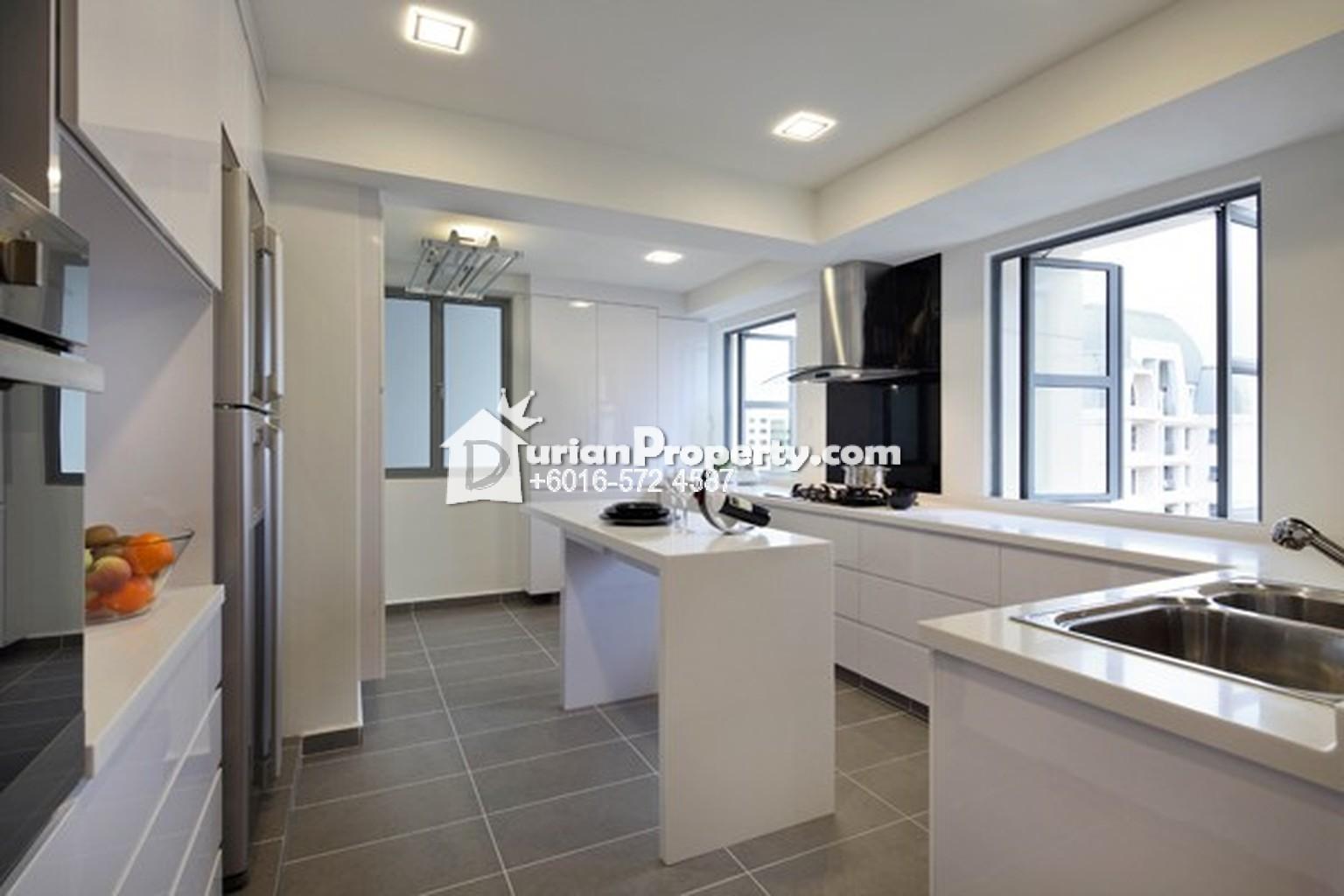 Condo for sale at taman desa saujana bangi for rm 345 000 for Singapore kitchen design ideas