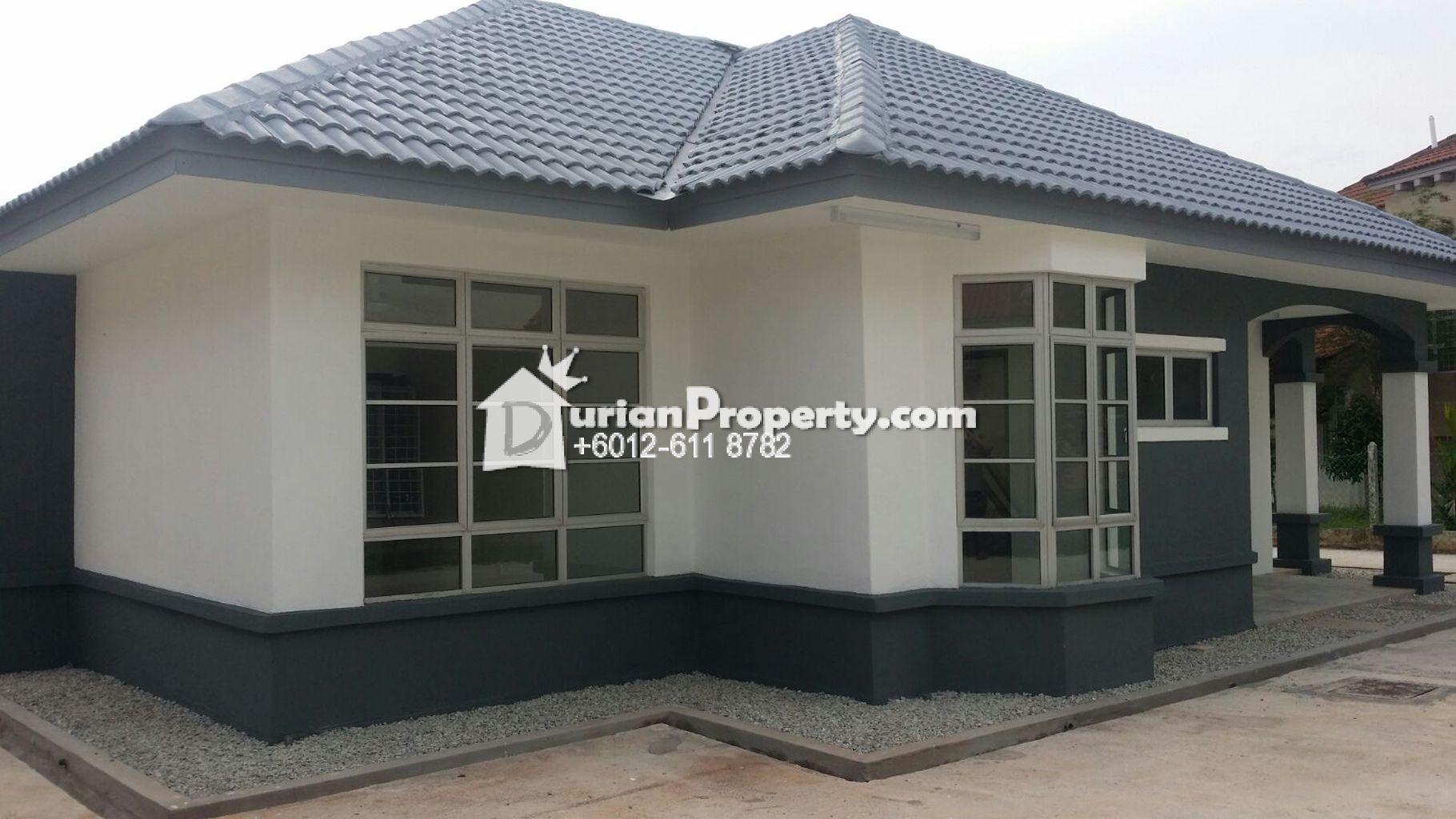 Bungalow house for sale at bagan lalang sepang for rm for Bungalow home for sale