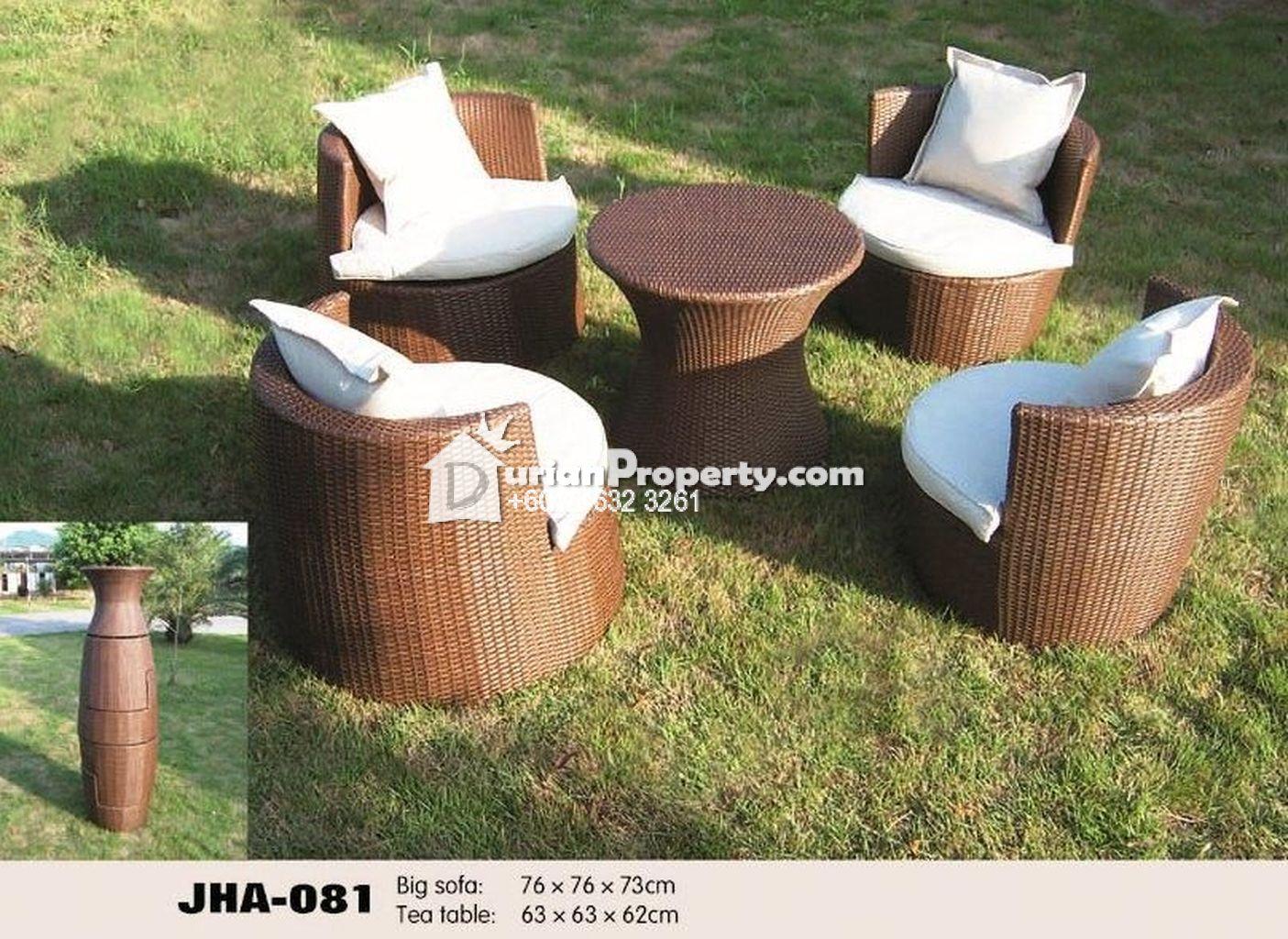 wicker patio sofa sets For Sale