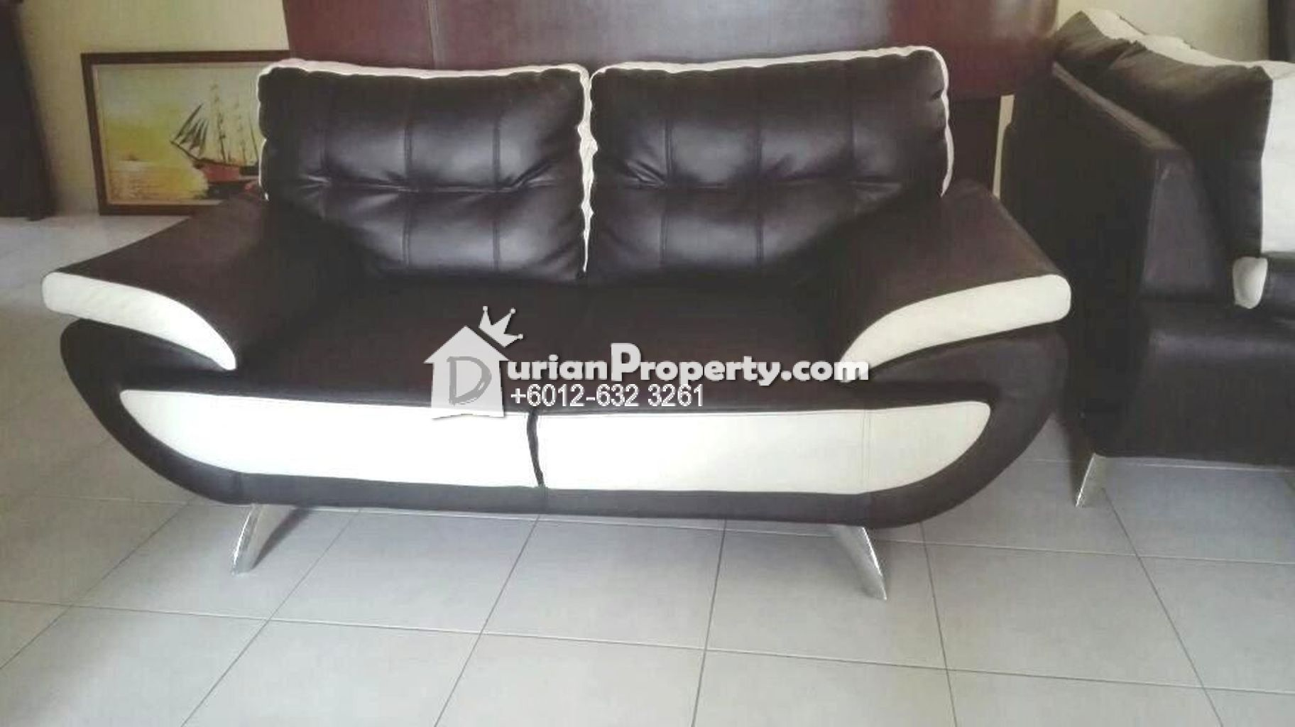 3+2 Leather Sofa Set For Sale