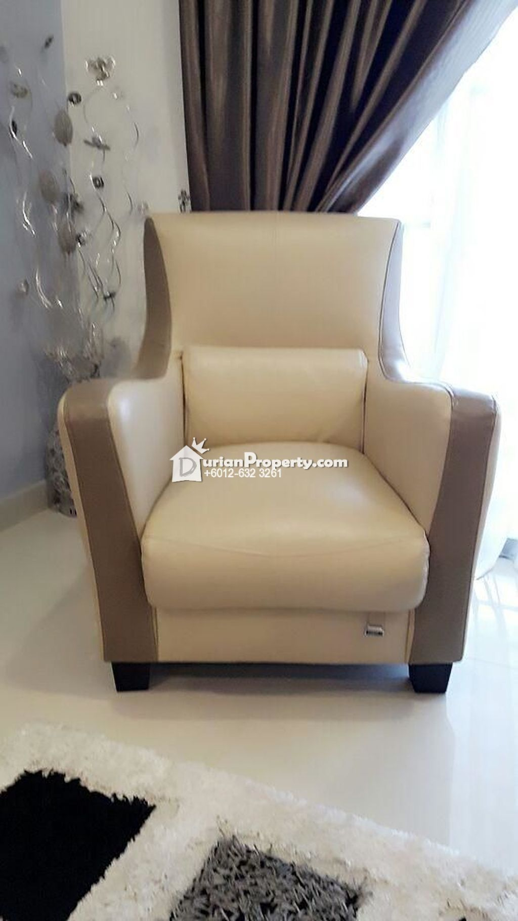 Branded Leather Seater Sofa Chair For Sale