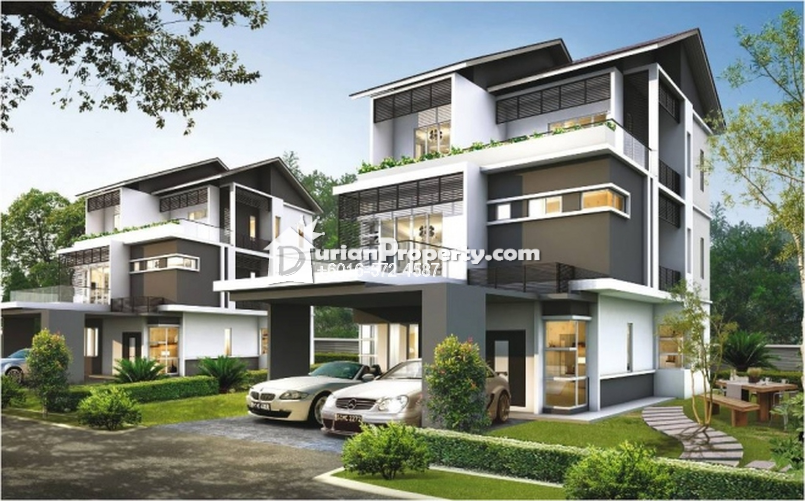Bungalow house for sale at symphony park cyberjaya for rm for Bungalow house for sale