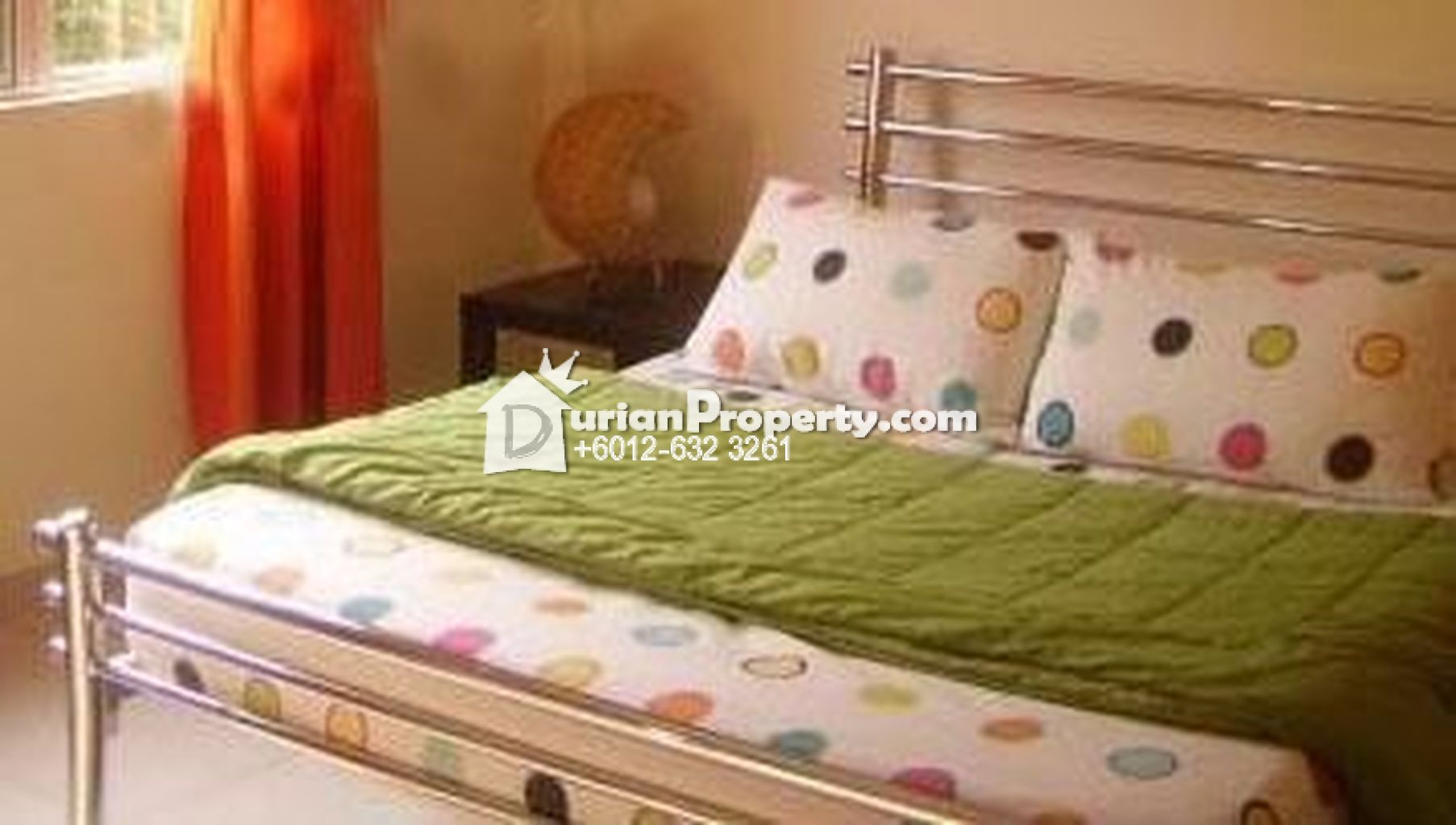 Silver Metal Queen Bed For Sale