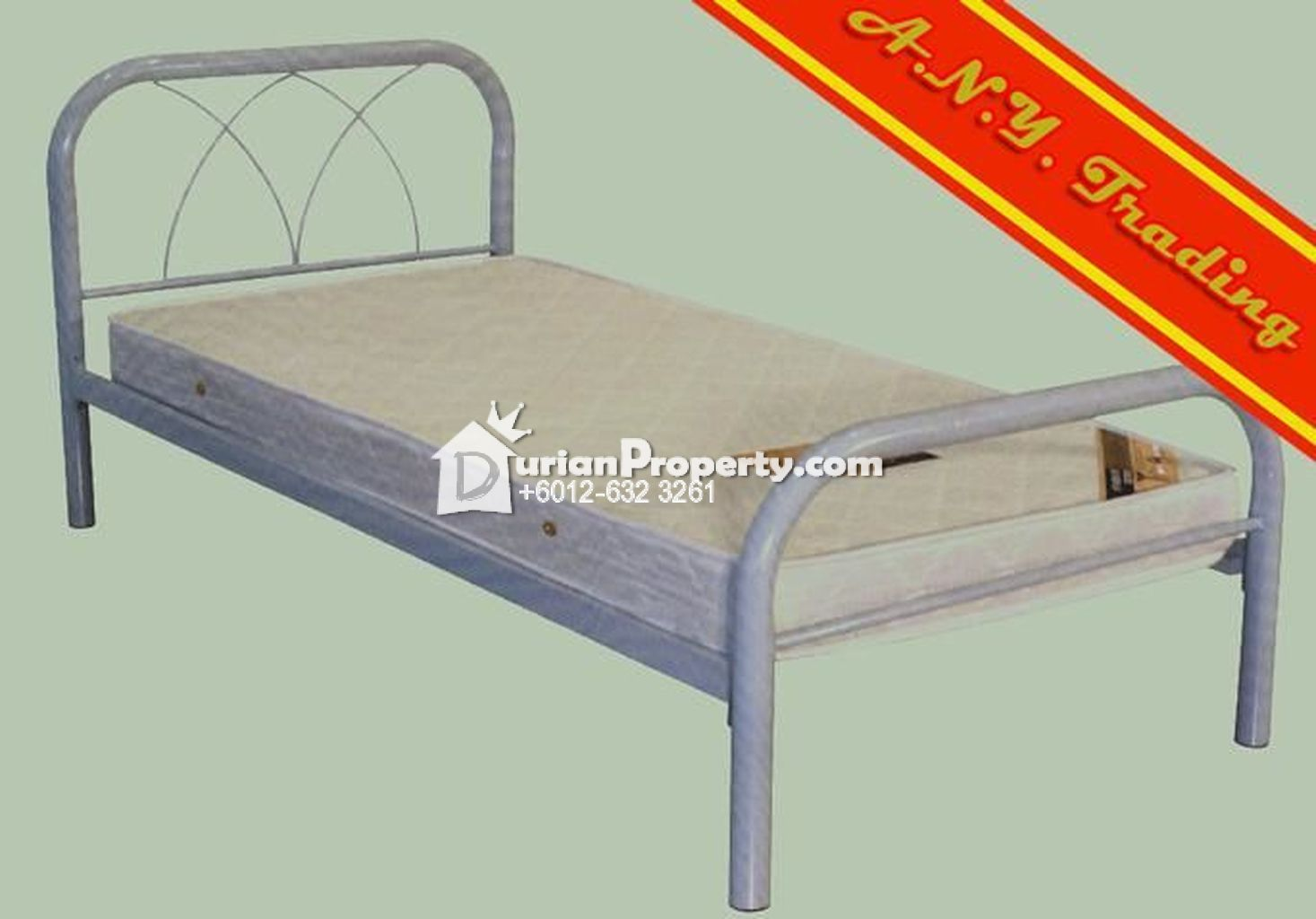 Bed with Matress For Sale