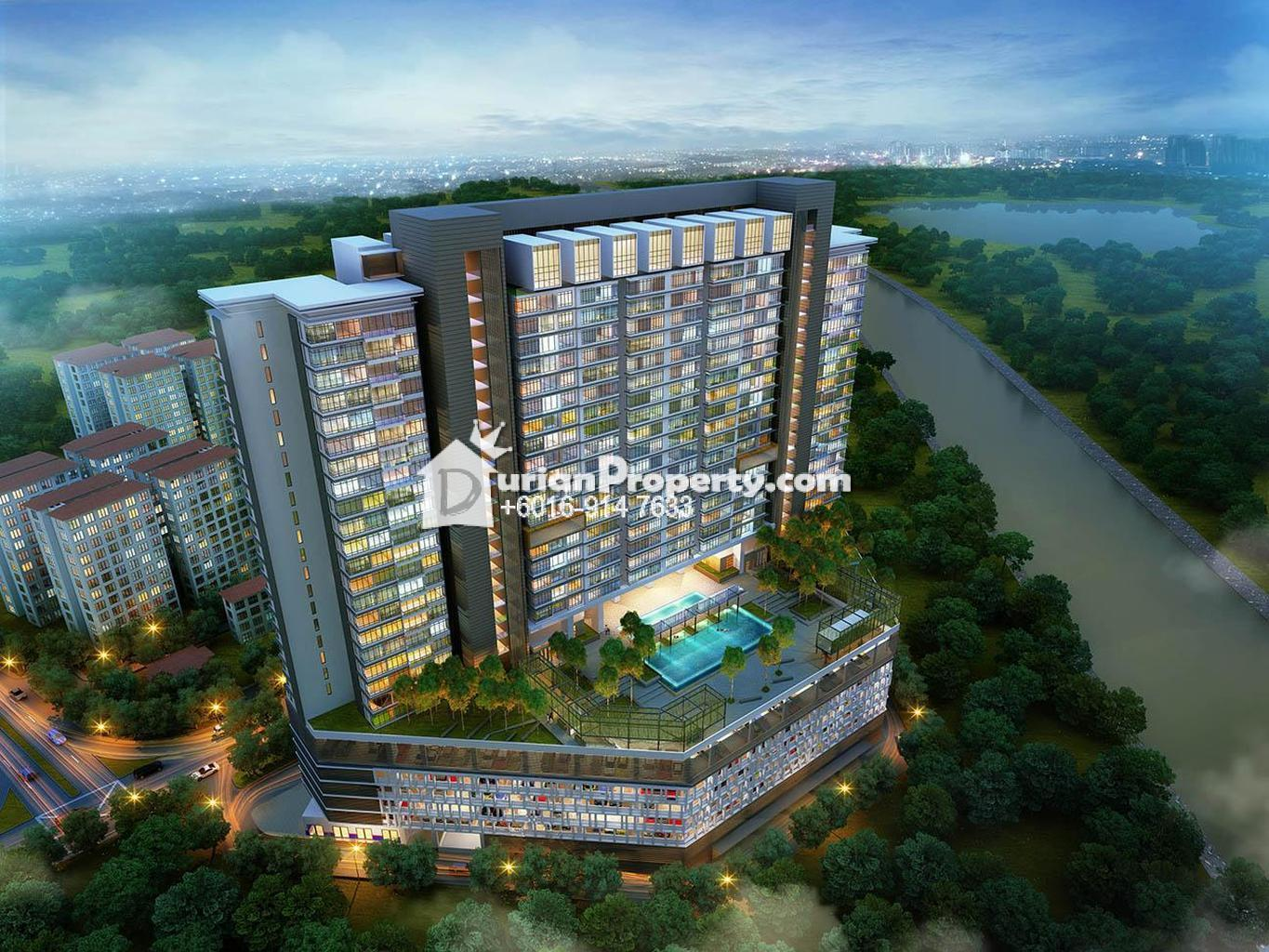 Apartment For Sale At The Edge Residence USJ  For RM  By - Usj 1 location map