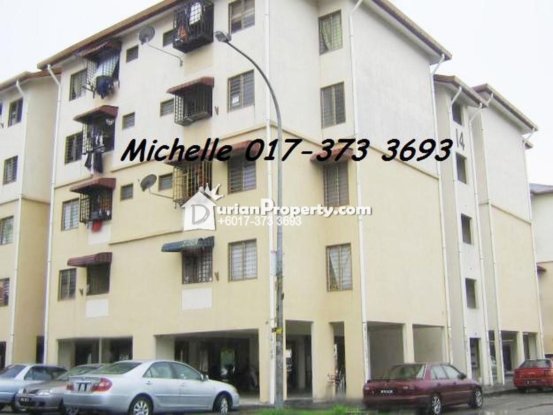 Apartment For Rent At Pangsapuri Sri Nervillia Kota Kemuning