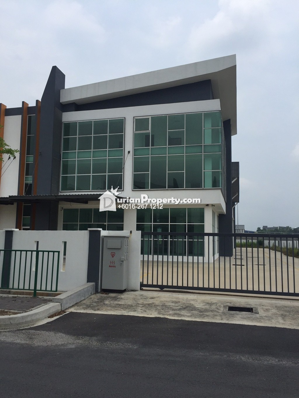 Semi-D Factory For Sale at Signature Corporate Industrial Park, Semenyih