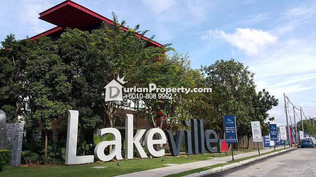 Serviced Residence For Sale at Lakeville Residence, Batu Caves