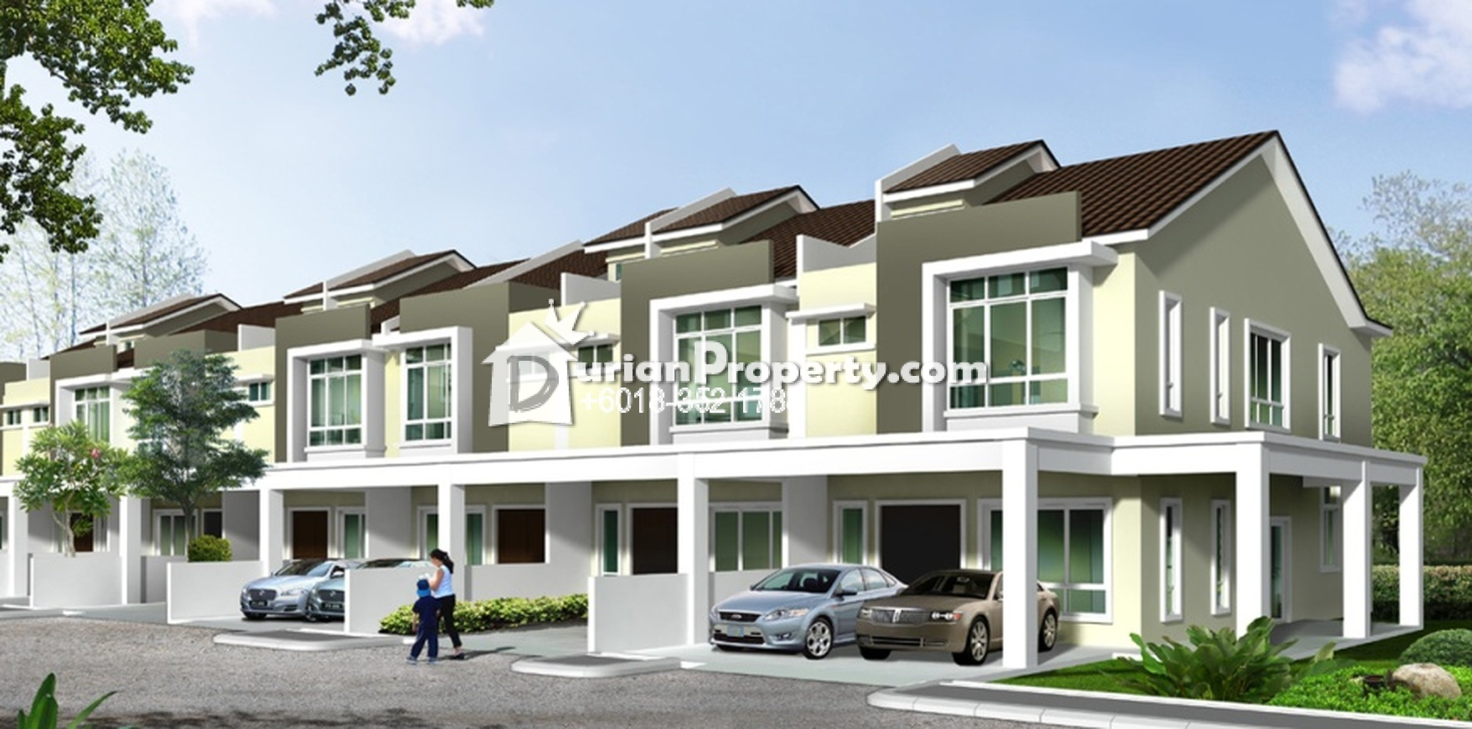 Terrace house for sale at suriaman bandar sri sendayan for The terrace land and house