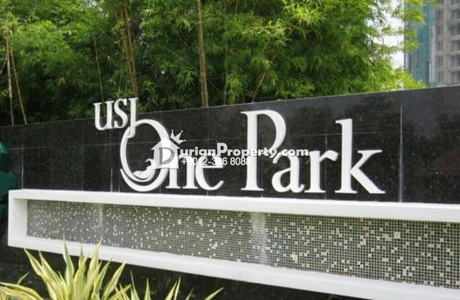 Condo For Sale At USJ One Park USJ For RM  By Caseylow - Usj 1 location map