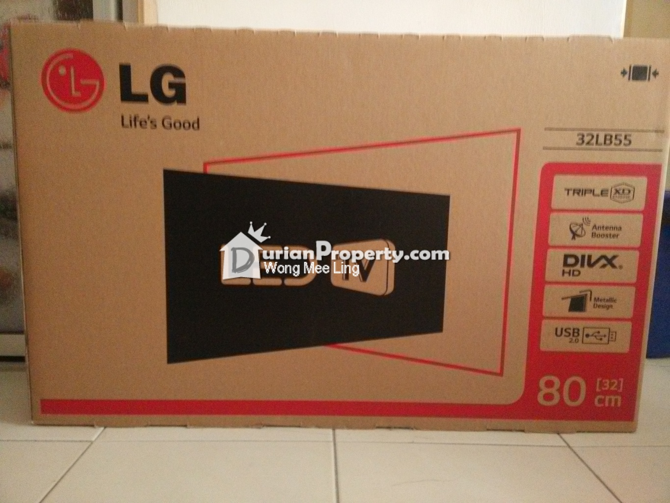 LG 32-inch LED TV (new) For Sale