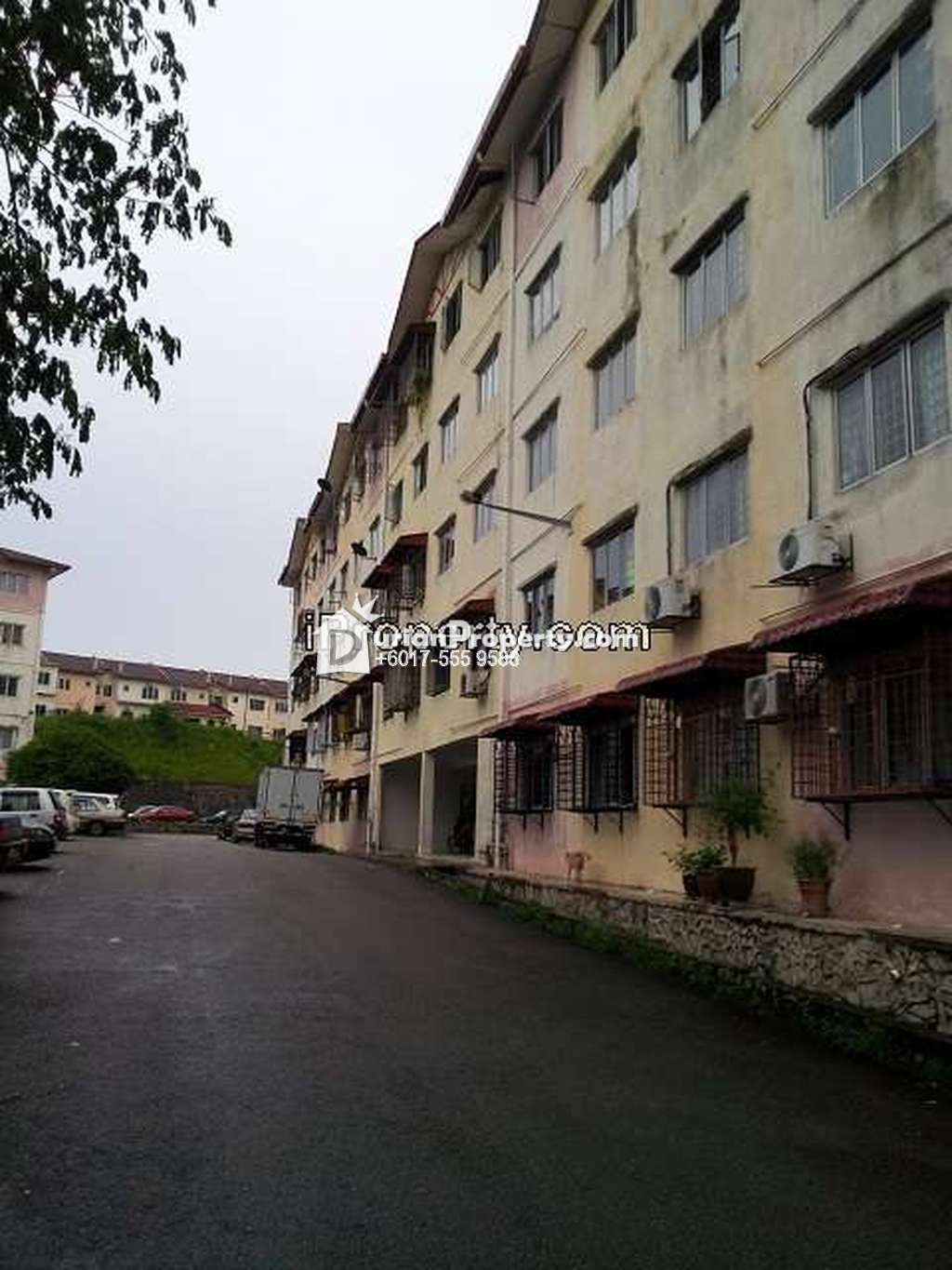 Apartment For Sale at Apartment Orchid Court, Rawang