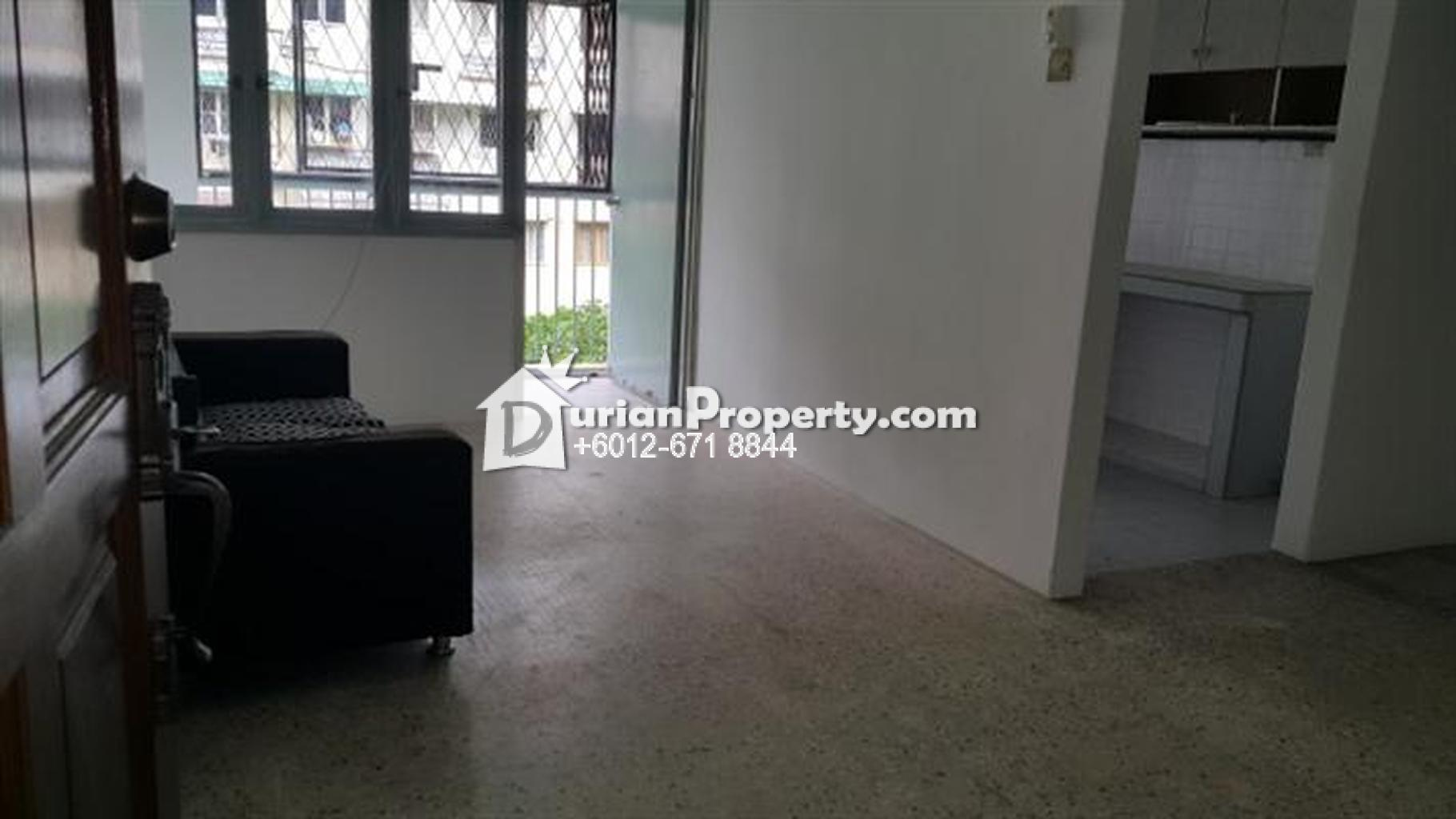 Apartment For Sale at Dahlia Apartment, Pandan Indah