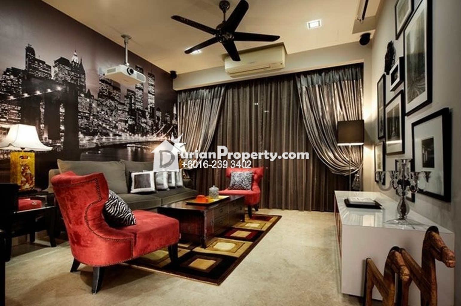 Serviced residence for sale at southville city bangi for for Aik sing interior decoration contractor