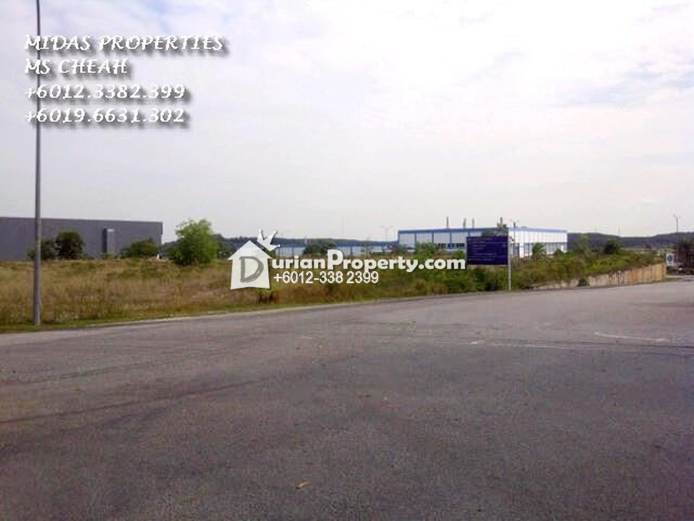 Industrial Land For Sale at Bandar Enstek, Nilai