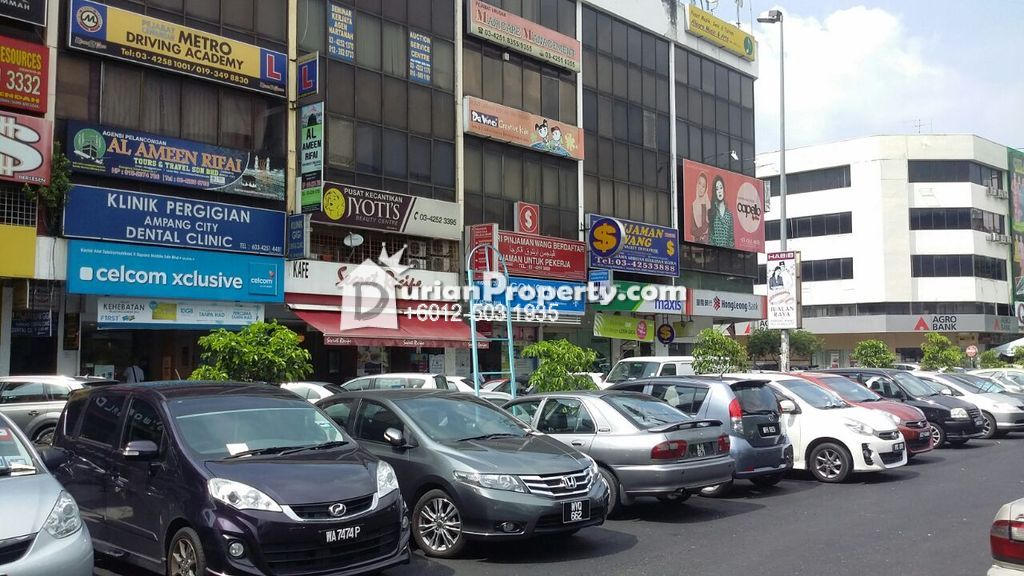 Office For Rent at Taman Dato Ahmad Razali, Ampang