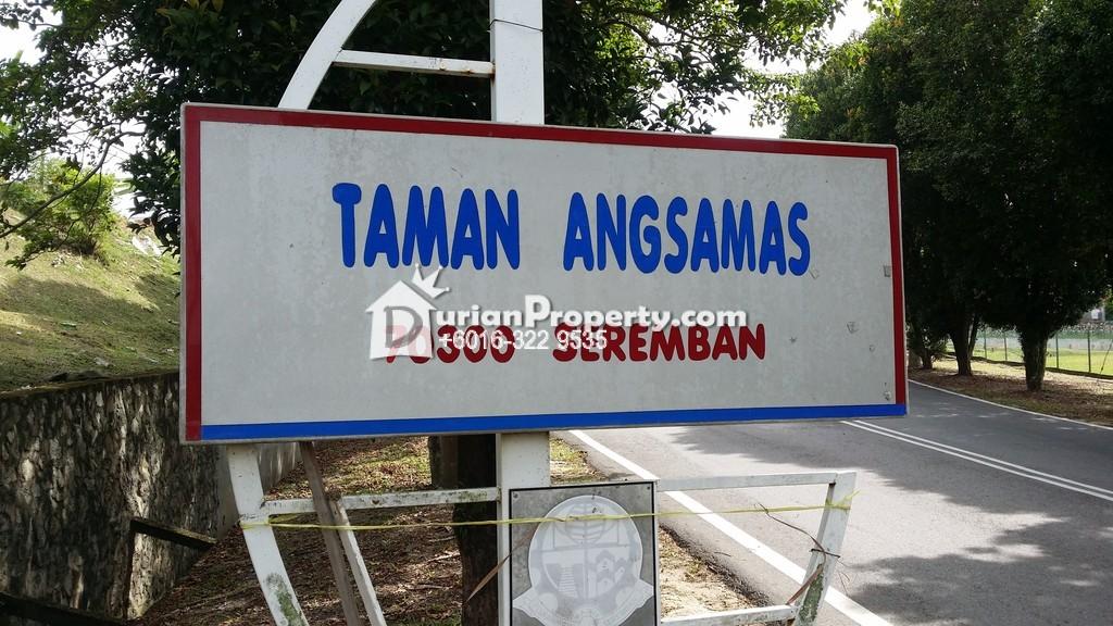 Terrace House For Sale at Taman Angsamas, Seremban