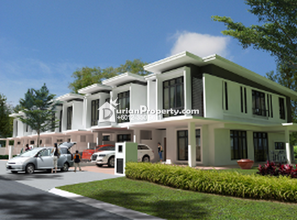 Semi d for sale at taman putra prima puchong for rm for Home design johor bahru