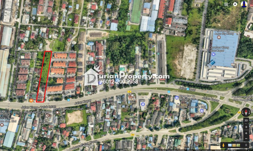 Agriculture Land For Rent at Kapar, Klang