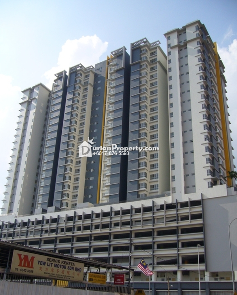 Condo For Rent at Viva Residency, Sentul for RM 2,400 by