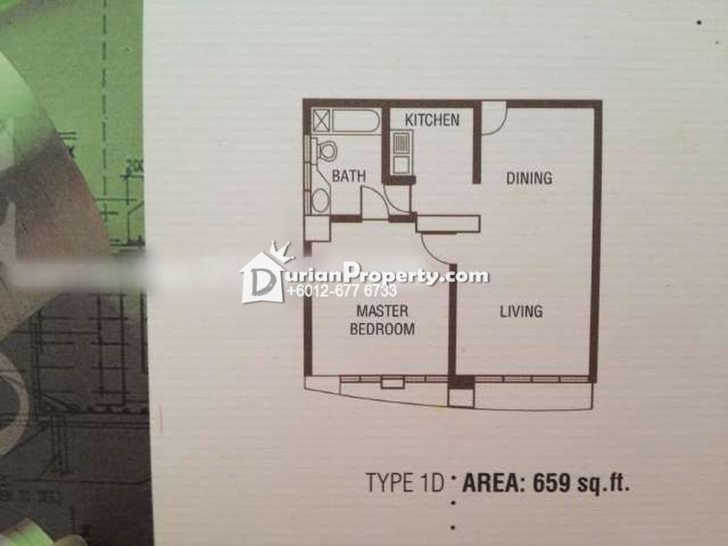 Condo For Rent at Vista Damai, KLCC