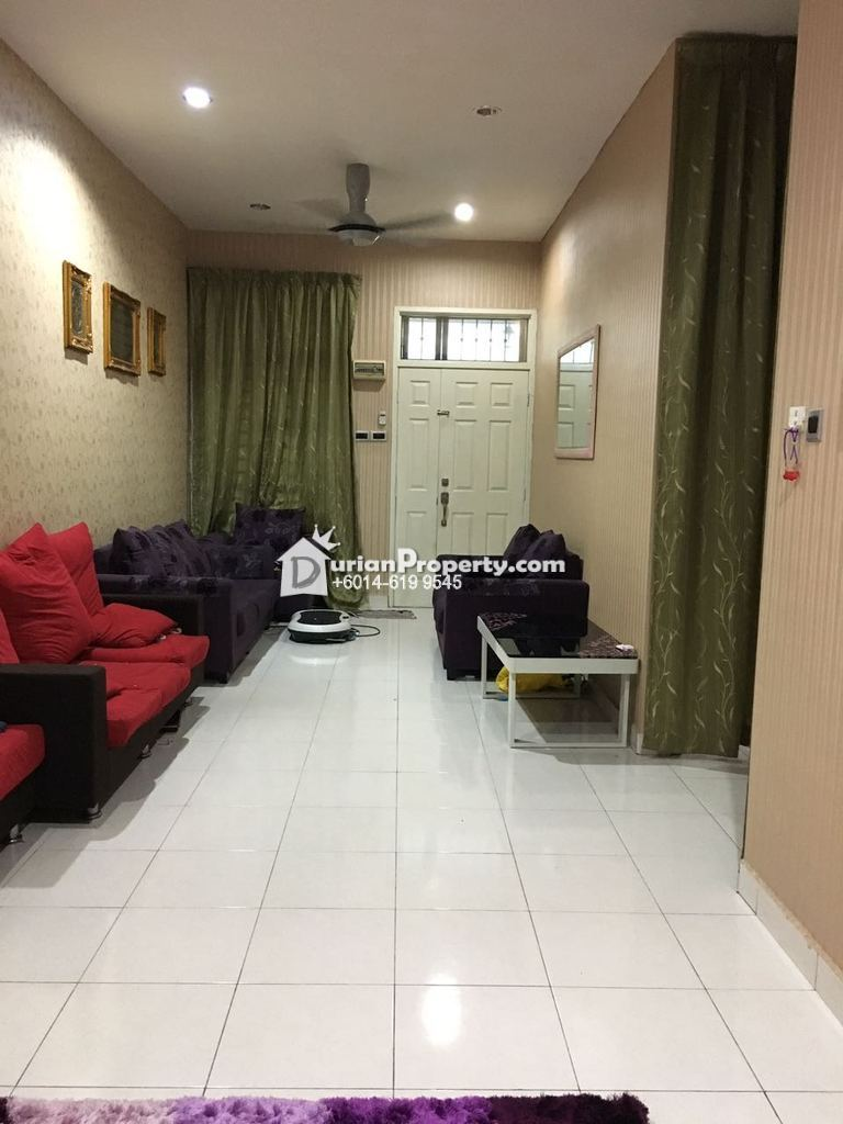 Terrace house for sale at taman kempas indah johor bahru for Home design johor bahru