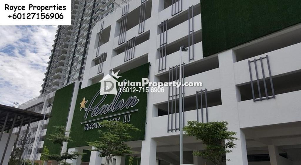 Condo For Rent At Pandan Residence Ii Johor Bahru For Rm
