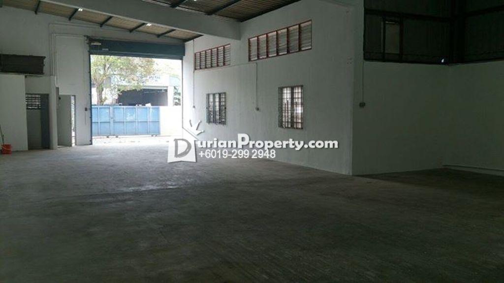 Semi-D Factory For Sale at Taman Templer, Seremban