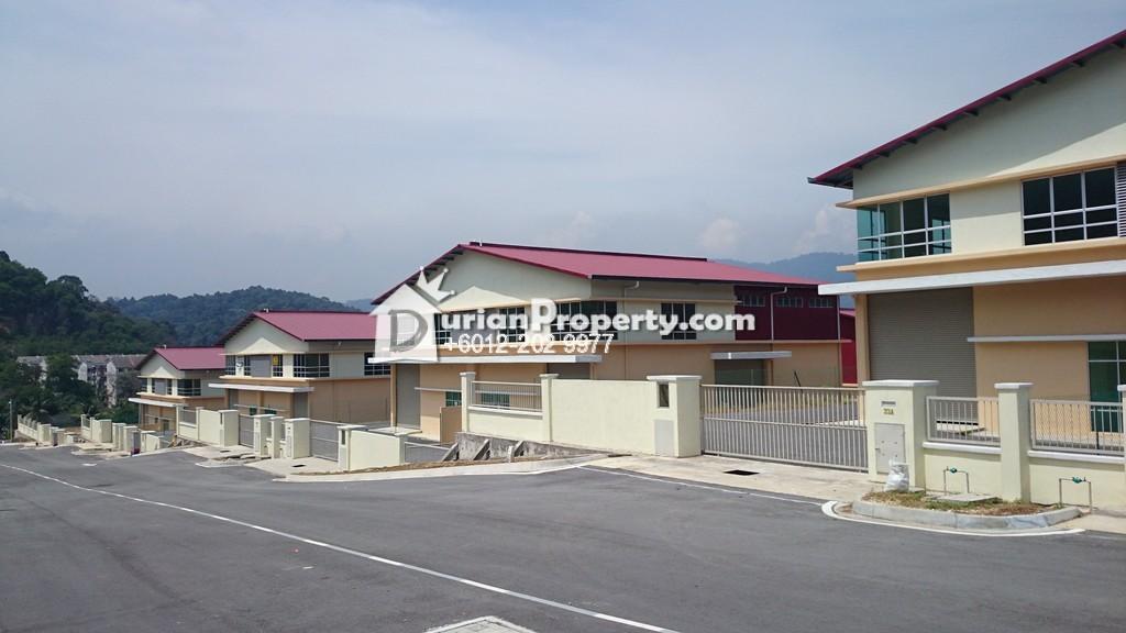 Semi-D Factory For Sale at Taman Rawang Perdana, Rawang