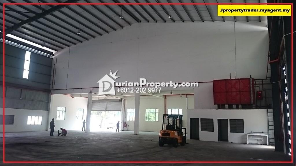 Semi-D Factory For Rent at Kundang Jaya, Rawang