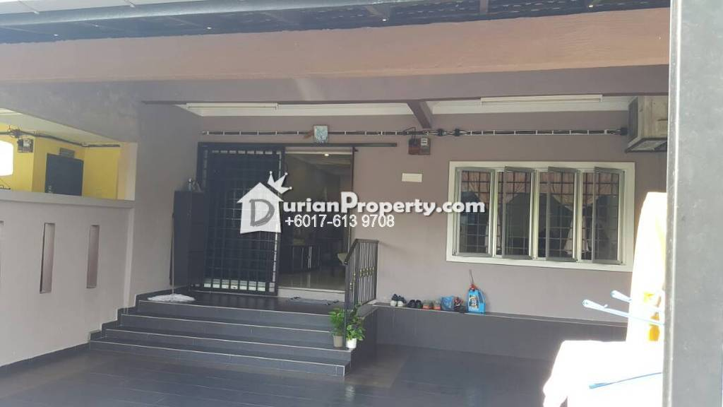 Terrace House For Sale at Taman Seri Cheras, Batu 9 Cheras