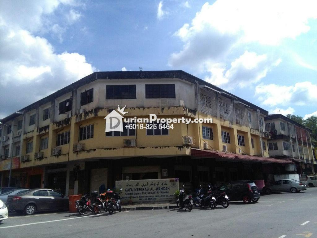 Shop Apartment For Sale At Taman Bukit Indah Ampang For