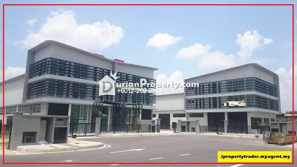 Semi-D Factory For Sale at Nouvelle Industri Park, Balakong