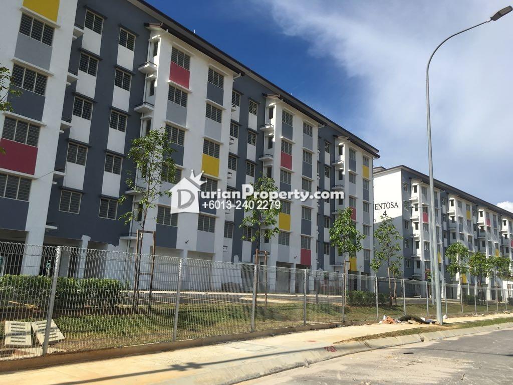 Apartment For Rent At Pangsapuri Sentosa Setia Alam
