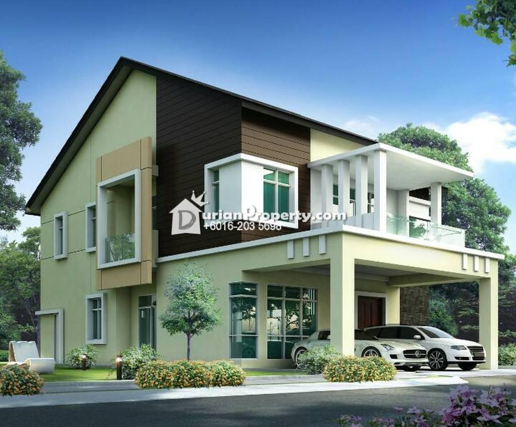 Bungalow house for sale at taman senawang perdana for Bungalow house for sale
