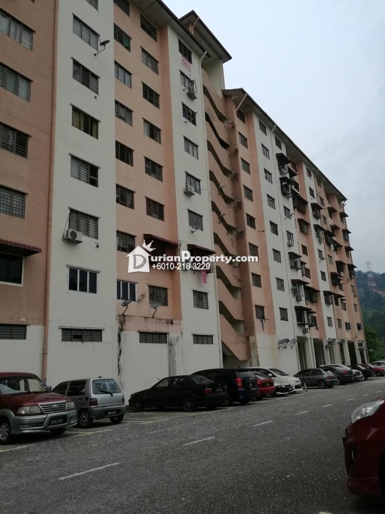Flat For Sale at Pangsapuri Segar Perdana, Taman Segar Perdana