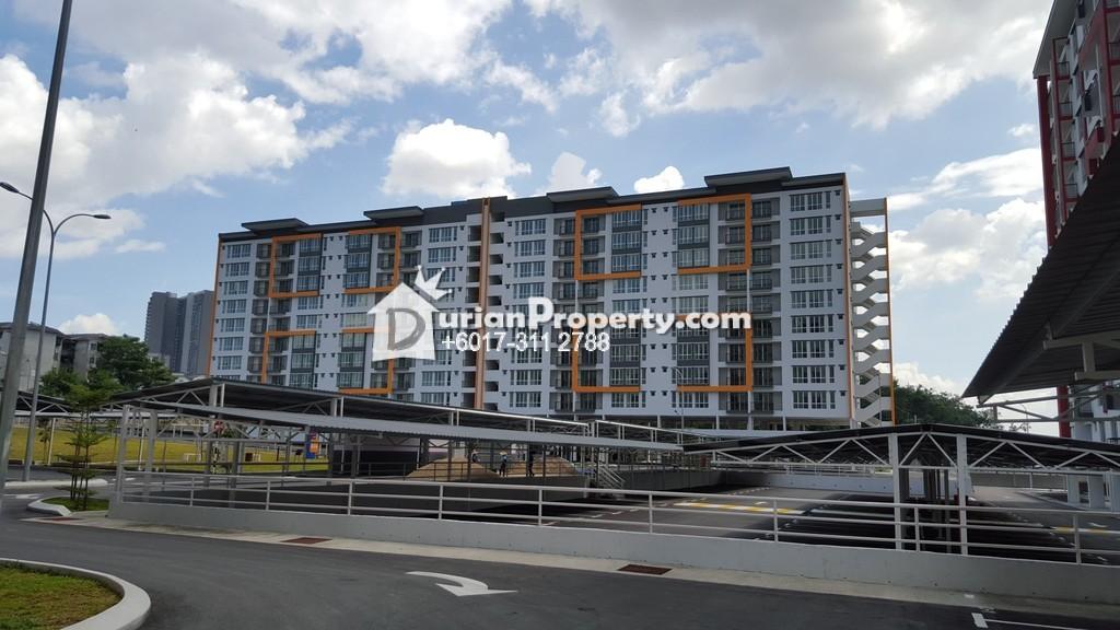 Apartment For Sale at Green Suria Apartment, Bandar Tun Hussein Onn