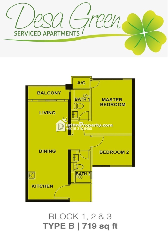 Condo For Sale At Desa Green Serviced Apartments Taman Desa For Rm 525 000 By Nickson Durianproperty